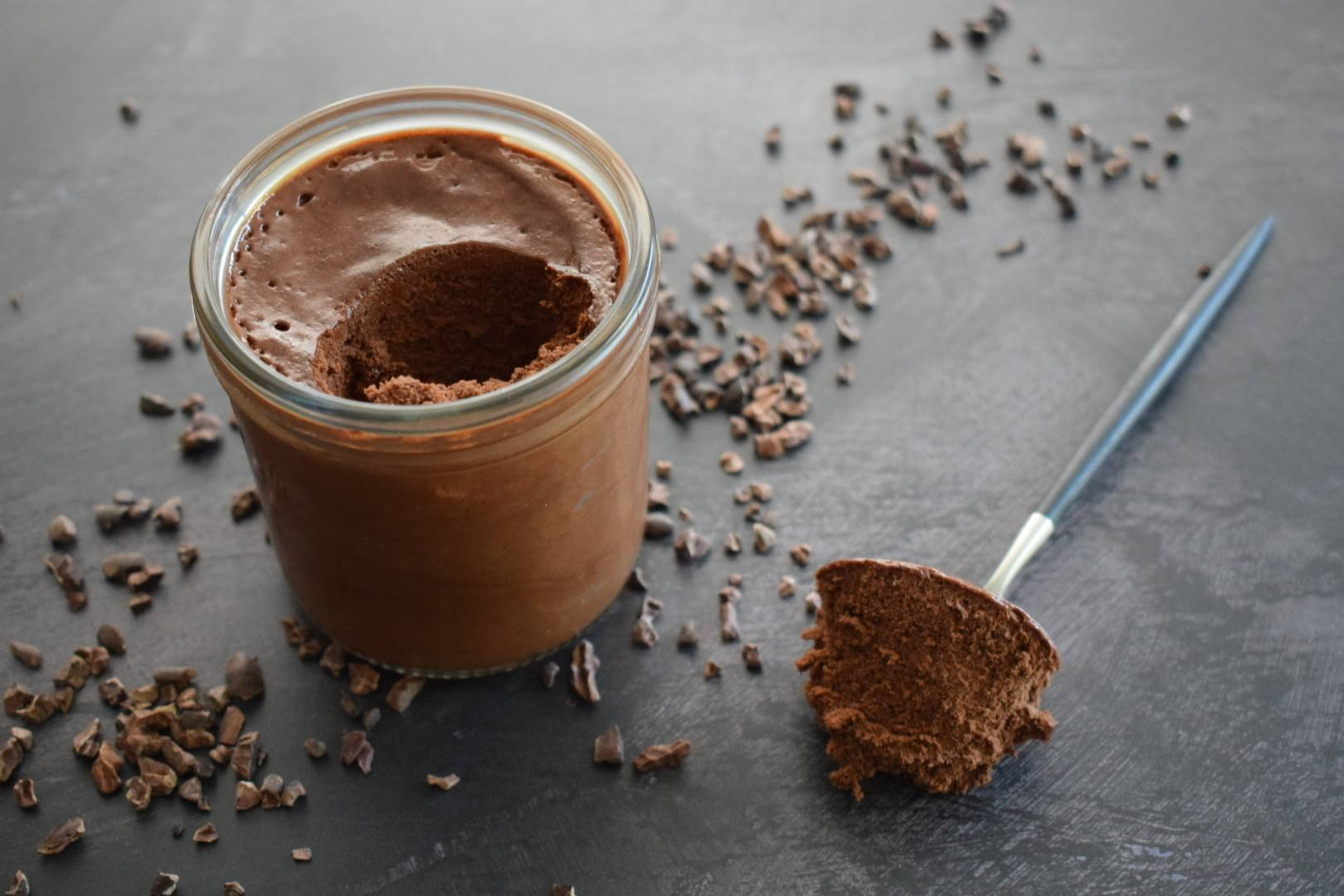 recipe image Chocolate & Peppermint Mousse